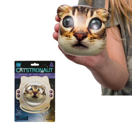 "Stress ball, squishy, catstronaut, cat, astronaut, space, 3"""