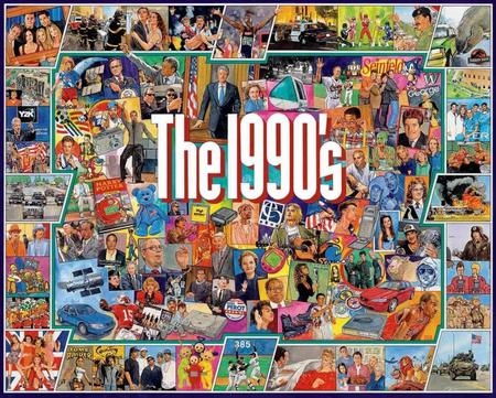 Puzzle, jigsaw, 1990's, '90's, artist Jim Mellett, 1000 pieces, finished size 24 x 30
