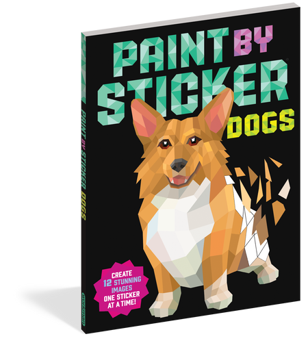 paint by sticker dogs