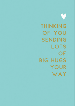 lots of hugs | encouragement