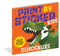 paint by sticker kids dinosaurs, front cover