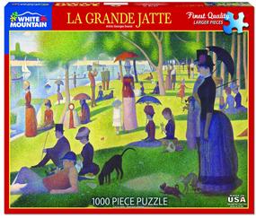 la grande jatte 1000 piece puzzle