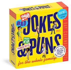 290 bad jokes and puns 2021 calendar