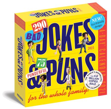 290 bad jokes and puns 2021 calendar