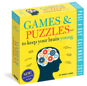 games and puzzles to keep your brain young 2021 calendar