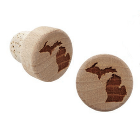 michigan cork bottle stopper
