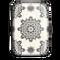credit card case, black mandala