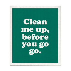 clean me up before you go go dishcloth, Wham!, George Michael