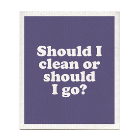 should I clean or go dishcloth, The Clash
