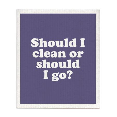 should I clean or go dishcloth, The Clash