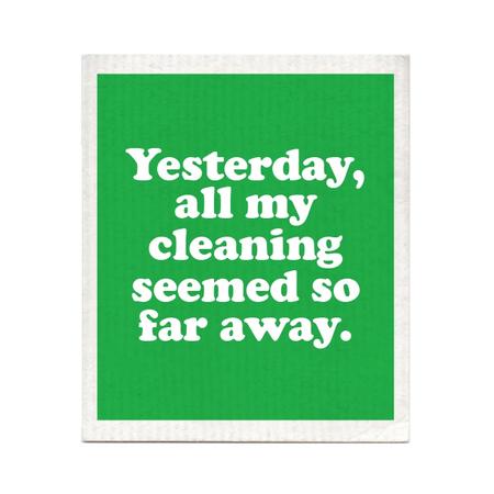 yesterday dishcloth, Beatles
