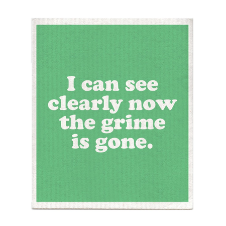 I can see clearly now dishcloth, Jimmy Cliff