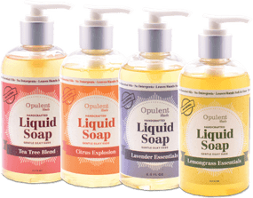 all natural liquid soap
