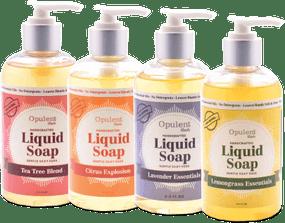all natural liquid soap