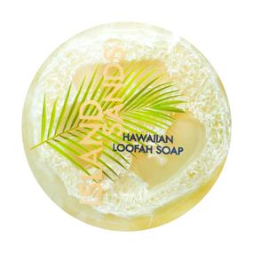 sea salt & kukui loofah soap, island sands