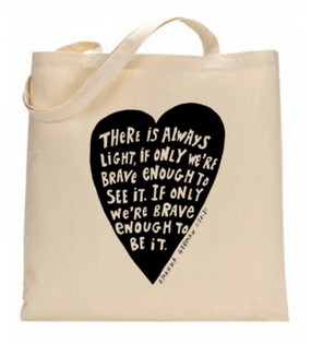 amanda gorman canvas tote , inauguration poet