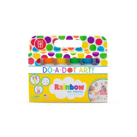 rainbow do a dot markers