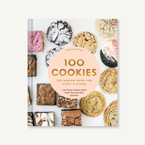 100 cookies, recipe book