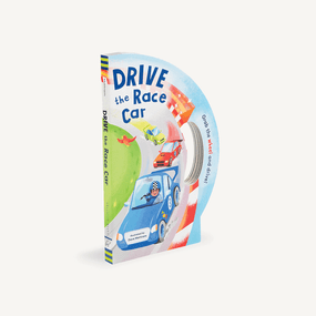 drive the race car, children's book