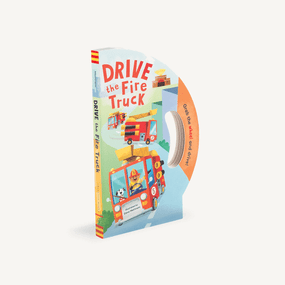 drive the fire truck, children's book