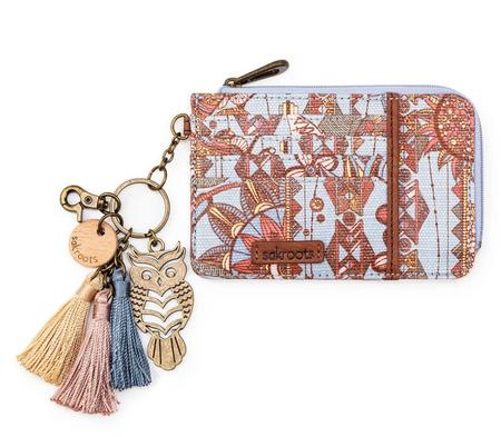 sky, spirit, desert laguna card wallet