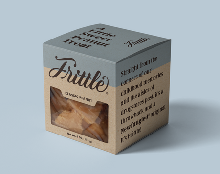 box of frittle, peanut brittle