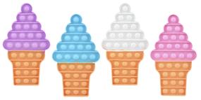 ice cream cone pop fidget
