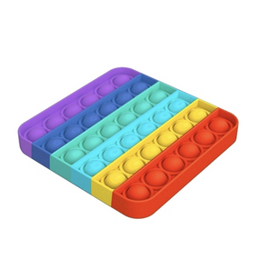 rainbow square fidget