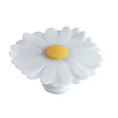 white daisy bottle stopper