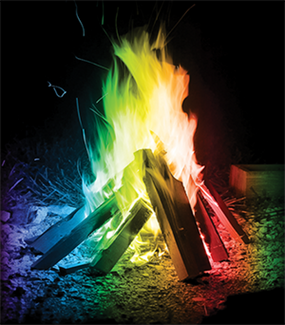 mystery fire, colorful fire enhancer