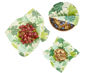 bees wrap forest floor:  3 pack assorted sizes
