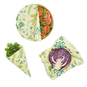 bees wrap herb garden:  3 pack assorted sizes