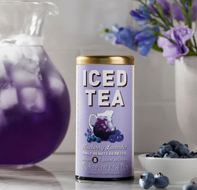 blueberry lavender large iced tea pouches