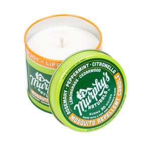 mosquito repellent 9 oz candle