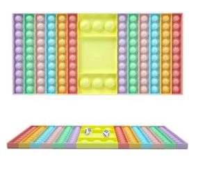 pastel color popper game board