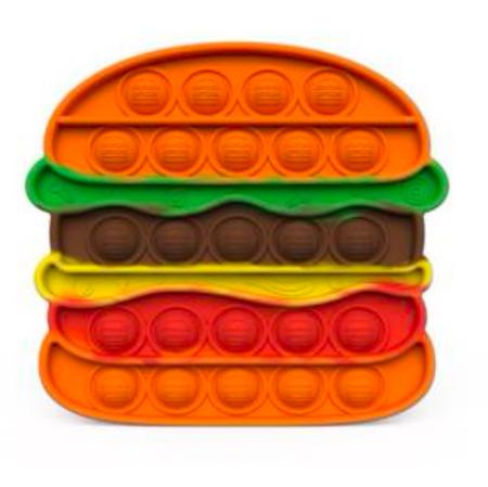 burger popper, fidget toy