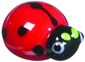 tiny little ladybug good luck  pocket charm