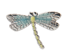 lucky dragonfly charm, good luck charm