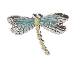 lucky dragonfly charm, good luck charm