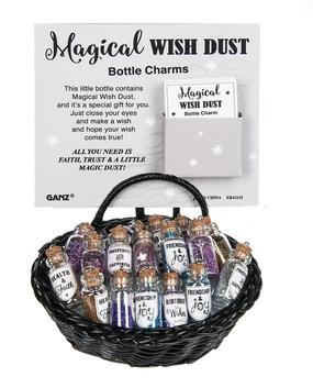 charm, wish dust, fairy dust, bottle
