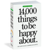 inspirational, things to be happy about, book