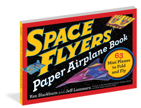 paper airplanes, space, book