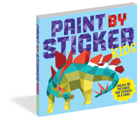 stickers, coloring books, paint by sticker, crafts, gift for kids