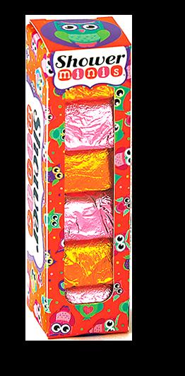 night owl shower burst minis, bath, shower, fizzy, fragrance, owl lovers, primrose scented, jasmine scented, made by hydra
