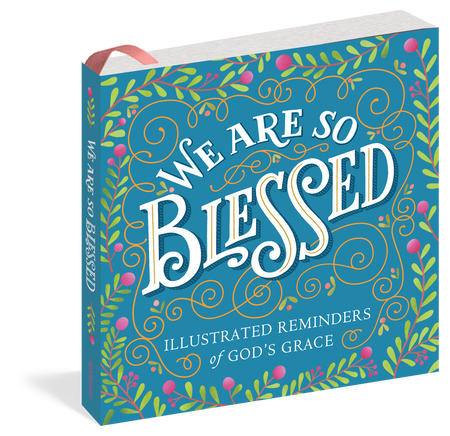 Illustrated Reminders of God's Grace A gift for prayer, worship, meditation, and everyday devotion: Here are 102 beautiful expressions to celebrate the grace of God. The wisdom of the Christian faith gets a reverent and radiant new treatment in We Are So Blessed, which pairs inspiring words with contemporary, vibrant graphics and gorgeous hand-lettering by 25 artists. Affirmations to soothe the soul and brighten the spirit. Biblical verses from Old and New Testaments. Beloved psalms, prayers, and hymns. Quotations from philosophers and writers, like St. Augustine and C. S. Lewis. Mindful meditations: Inhale faith. Exhale fear—and beyond. And each is made all the more powerful through the transformative lens of art. This uplifting, modern book is a reminder of a timeless truth: No matter where you may be in life, God has blessed you in countless ways. It's a celebration of His guidance and generosity—and of the devotion and spiritual rejuvenation He inspires. 208 pages