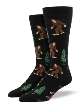 87ff2c1f4f2f These socks are easier to find than the real bigfoot! Perfect for the  Bigfoot Hunters · bigfoot mens socks