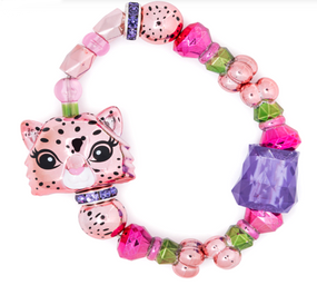 Wear your favorite toy with this Twisty Petz single pack. Its random style adds an element of surprise to your jewelry collection, and the clever design lets you switch from bracelet to figurine through a few simple twists. This Twisty Petz single pack transforms into a fun accessory for backpacks or purses. Sold Assorted