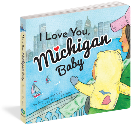 """Michigan Baby, I love you so much. My love for you is longer than the Mackinac Bridge and taller than a lighthouse"
