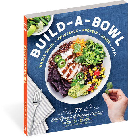 """""""Nicki has cracked the dinnertime code with easy recipes that are endlessly adaptable and guaranteed to satisfy the pickiest and most adventurous eaters at the table, plus everyone in between."""