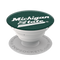 michigan state heritage popsocket, side view